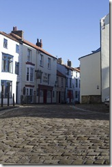 broad street in staithes